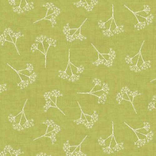 Makower Heartwood Cow Parsley Fabric